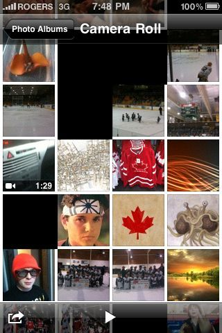 My iPhone 'Camera Roll'