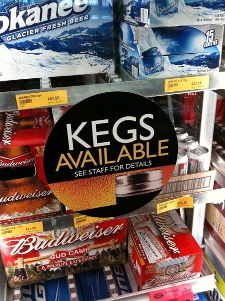 Summertime Kegs