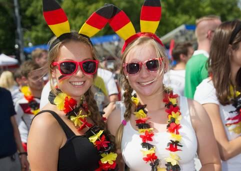 German's Celebrate